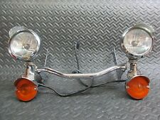 Harley Davidson OEM Chrome Touring Passing Lamps Signals Electra '07