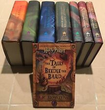 "HARRY POTTER Complete Hardcover Book Set 1 - 7 & ""The Tales Of Beedle The Bard"""