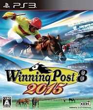 PS3 Winning Post 8 2015 Horse Racing Japan ver. import from Japan Used