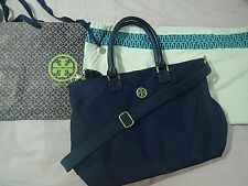 Authentic Tory Burch Handbag (Navy Blue)