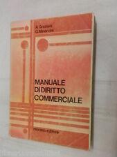 MANUALE DI DIRITTO COMMERCIALE A Graziani e G Minervini Morano editore 1983 di