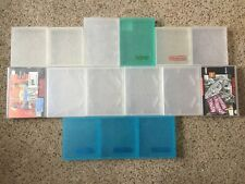 Lot of 15 Nintendo NES SNES game Sleeves hard plastic cases Dust Covers Shells