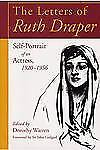 The Letters of Ruth Draper: Self-Portrait of an Actress, 1920 - 1956-ExLibrary