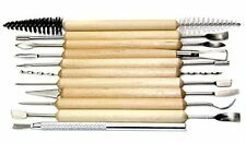 11-pc Durable Pottery and Sculpting Tools Set of 21 Tools,Professional Quality