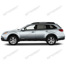 For: SUBARU OUTBACK; PAINTED Body Side Moldings Mouldings Trim 2010-2017