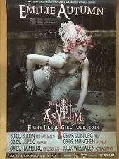 EMILIE AUTUMN 2013 TOUR - orig.Concert Poster  --  Konzert Plakat  A1 NEU