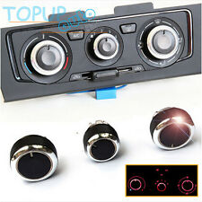 FITFOR SKODA OCTAVIA MK2 A5 04-13 SWITCH KNOB HEATER BUTTONS DIALS A/C AIR COVER