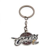 Licenza Ufficiale Prodotto NBA Cleveland Cavaliers PORTACHIAVI METALLO CREST NUOVO di zecca