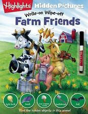 Write-On Wipe-off Hidden Pictures#174: Farm Friends (2015, Paperback)