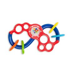 Oball Flex & Slide Rattle Ages 3M+ Baby Toy Sliding Beads Rattle Sounds