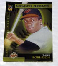2000 Topps MLB FRANK ROBINSON #GA7 Golden Greats insert card Baltimore Orioles