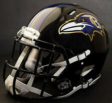 ***CUSTOM*** BALTIMORE RAVENS NFL Riddell Full Size SPEED Football Helmet