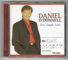 (GY760) Daniel O'Donnell, Live, Laugh, Love - 2001 CD