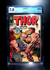 COMICS: Marvel: Thor #126 (1966), 1st issue in title - CGC 7.0 (avengers)