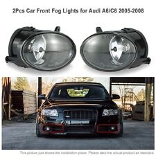 One Pair of Car Front Fog Lights LED Lamp for Audi A6 C6 05-2008 4F0941700 CA00