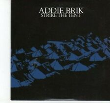 (DJ550) Addie Brik, Strike the Tent - 2009 DJ CD