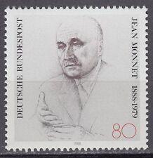 Germany Bund BRD 1988 ** Mi.1372 Politiker Poloitician   Jean Monnet