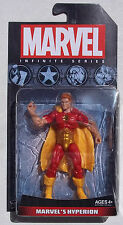 MARVEL INFINITE SERIES. MARVEL'S HYPERION. 4 INCH FIGURE. NEW ON CARD