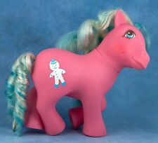 Vintage G1 My Little Pony Molasses Candy Cane Ponies MLP 1988-1989 Year 7