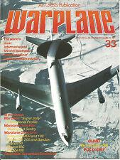 WARPLANE  #33 Boeing E-3 Sentry, Dassault-Breguet Falcon 10MER, 100, 20, 200
