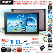 "PIPO T9S 3G 32GB GPS 1.7G OCTA CORE 8.9"" RETINA PLS 4.4 ANDROID PHONE TABLET PC"