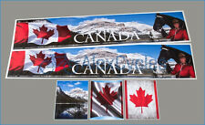 1/14 Tamiya 14th Scale Truck Reefer Box Trailer CANADA Decals Stickers + FR GIFT
