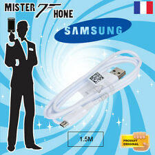 CABLE DATA ORIGINE SAMSUNG 150CM MICRO USB BLANC ECB-DU4EWE TABLETTE GALAXY NOTE