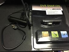 ARCHOS 5 DVR TRAVEL ADAPTER W/ HELMET CAM CAMCORDER CAMERA BULLET HEAD CAM