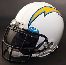 SAN DIEGO CHARGERS NFL Authentic GAMEDAY Football Helmet w/ OAKLEY Eye Shield