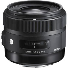 Sigma 30mm F1.4 DC HSM Art Lens in Sony A Mount Fit (UK Stock) BNIB