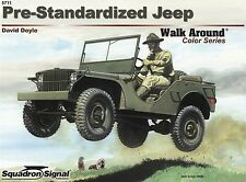 22209/ Squadron Signal - Walk Around 11 - Pre-Standardized Jeep - TOPP HEFT