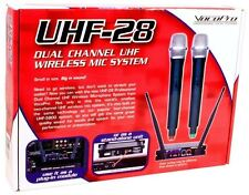 Vocopro UHF-28 Dual Channel UHF Wireless Mic Handheld Microphone System