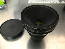 Carl Zeiss CP.2 CP2 Compact Prime 18mm T3.6 T3,6 Lens Full Frame Red Arri