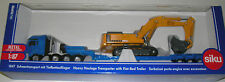 Siku 1847 - Heavy Haulage Transporter With Flat-Bed Trailer         1:87 Diecast