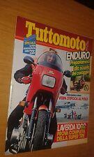 TUTTOMOTO #  3 - MARZO 1983 - VESPA D'EPOCA AL POLO - ANDURO - LAVERDA 1000 RGS