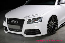Limited Edition by Audi Motorsport Aufkleber Sticker Sports Mind Quattro S Line