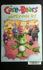 CARE BEARS OOPSY DOES IT CARTOON MINI POSTER BACKER CARD (NOT A movie )