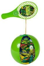 2 NEW NINJA TURTLE PADDLE PUNCH BALL  play toy balls TV movie character INFLATE