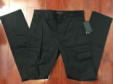 NEW THEORY MEN ARTEO PERPETUAL BLACK LIGHTWEIGHT CARGO PANTS MEN SIZE 30 - $225
