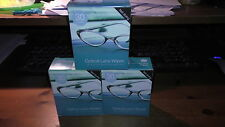 90 OPTICAL SPECTACLE GLASSES GLASS LENS MONITOR  CLEANING WIPES *FREE POSTAGE*