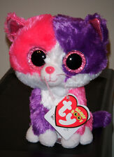 """Ty Beanie Boos ~ PELLIE the 6"""" Cat Claire's Exclusive ~ MINT WITH MINT TAGS ~NEW"""