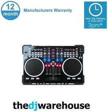 American Audio VMS5 DJ MIDI Controller With Virtual DJ 8 LE Software
