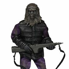 "NECA PLANET OF THE APE CLASSIC GORILLA SOLDIER FIGURE DOLL 8"" ACTION RETRO"