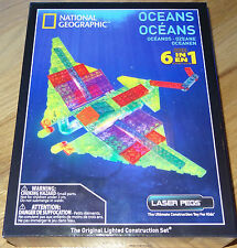 National Geographic Oceans Laser Pegs Lighted Construction Toy Light Up Block