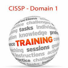 CISSP - Domain 1 - Video Training Tutorial DVD