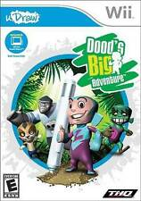 Doods Big Adventure - Requires uDraw Game Tablet Pen Panic Fan Frenzy Wii NEW