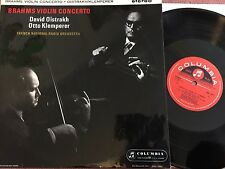 SAX 2411 UK orig. BRAHMS Violin Concerto in D major OISTRAKH, KLEMPERER, NM