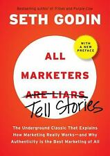All Marketers Are Liars Marketing Seth Godin 2009 Hardcover 9781591843030 NEW