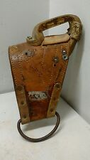 Barstow Pro Rodeo Equipment Leather Horse Bareback Riding Rigging Vintage