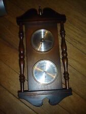 Vintage  Weather Station Barometer Thermometer